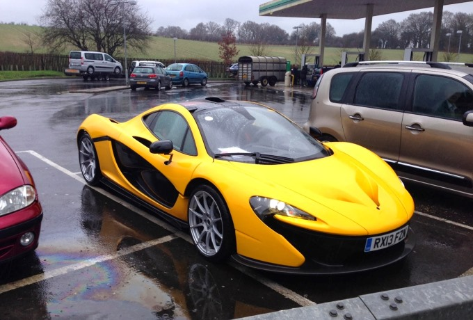 McLaren P1 Spotted near Andover