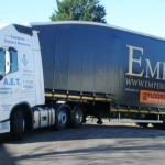 Andover Company Take Delivery of Double Deck Trailer