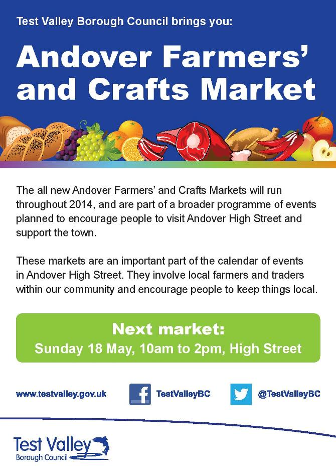 Andover Farmers Market 2014 - May