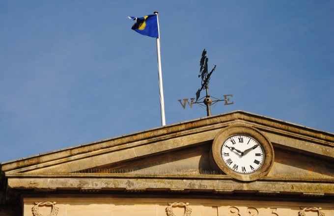 Commonwealth Flag Over Andover Guildhall