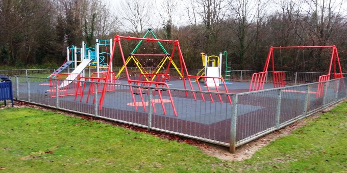 Gallaghers Mead Play park after refurb Feb 2014