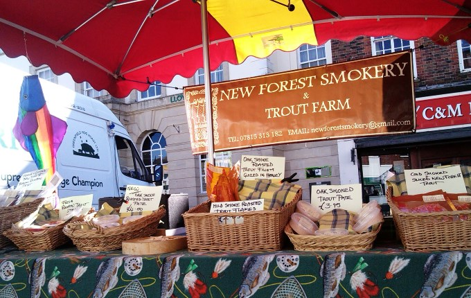 New Forset Smokery and Trout Farm