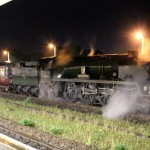 Steam Train Arrives Back at Andover