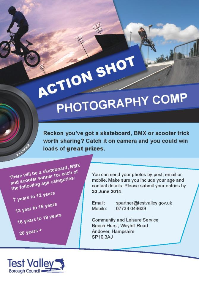 TVBC Action Shot Photography Competition