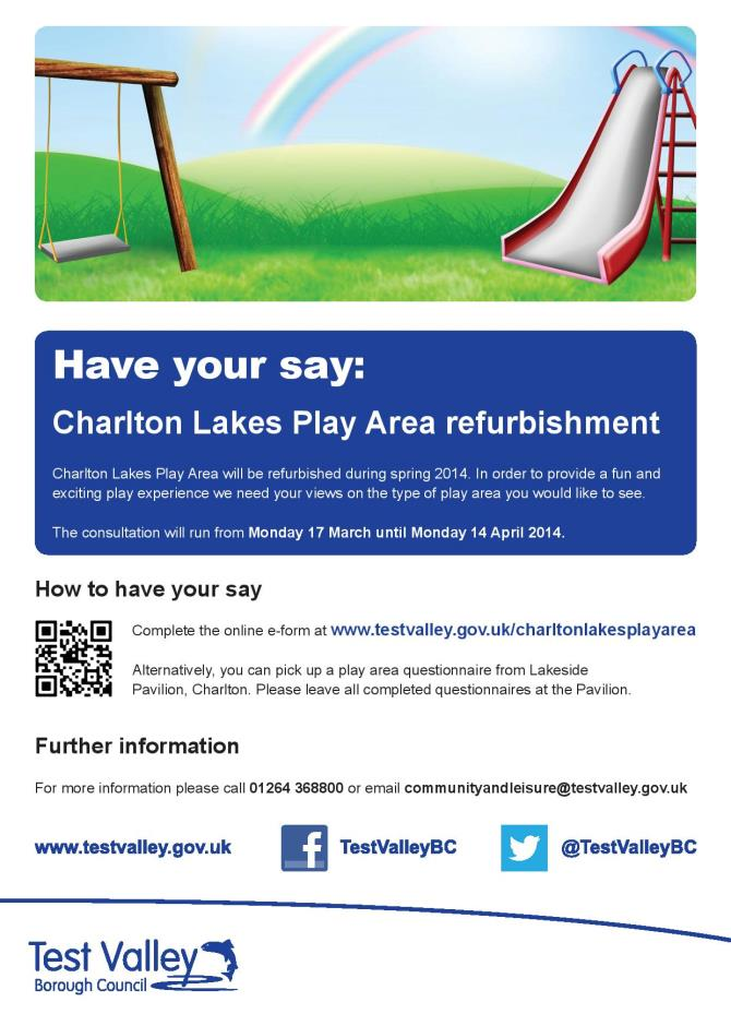 TVBC - Poster-Have-your-say-Charlton-Play-Area-Refurbishment
