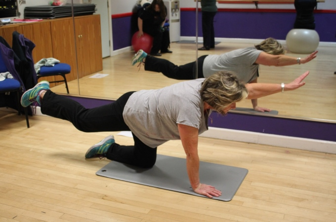 Ronnie Dowdell at new back fitness courses