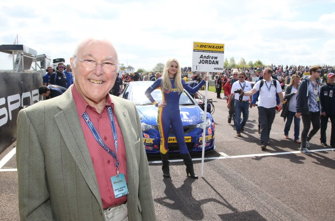 Murray Walker at Thruxton BTCC - image courtesy of Jakob Ebrey Photography