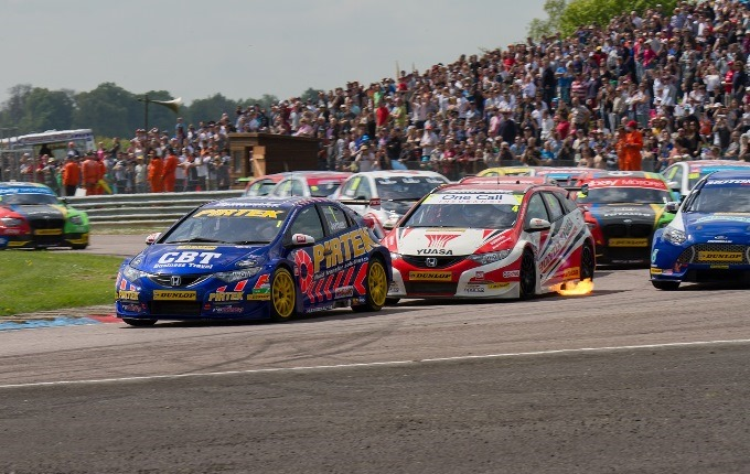 Andrew Jordan #77 Pirtek Racing Honda - Jordan lead race 1 from flag to finish