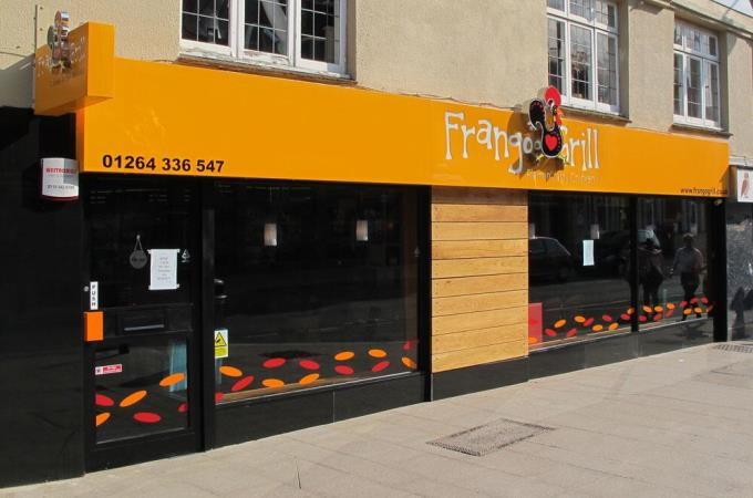 Frango Grill Andover - Outside