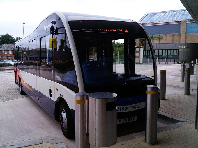 Andover Bus Station First Bus