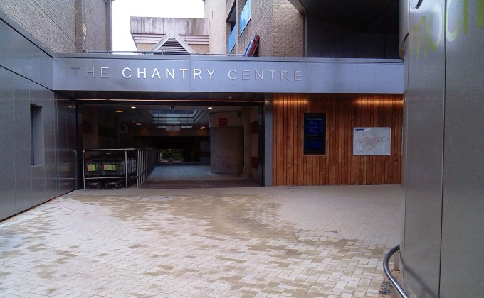 Chantry Centre Entrance