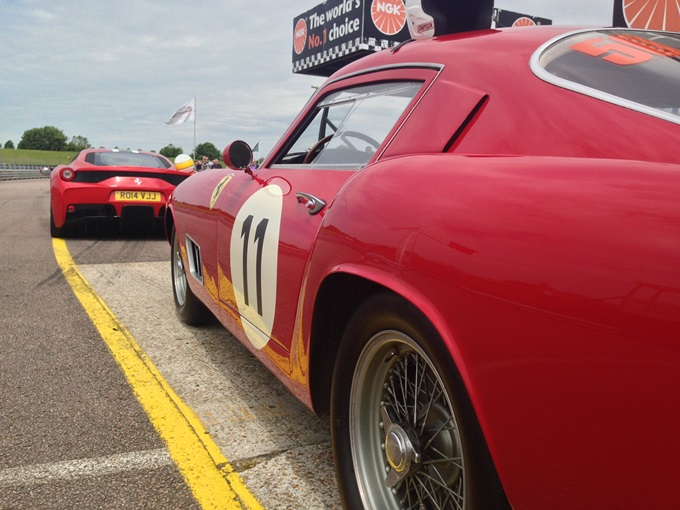 Chris Evans at Thruxton