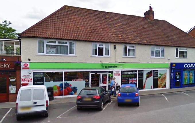 Co-operative Store on Weyhill Road, Andover
