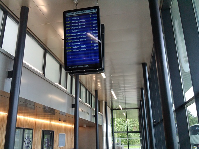 Inside - Display Board