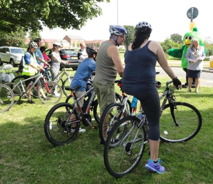 Lakeside Cycle Route Event 2014