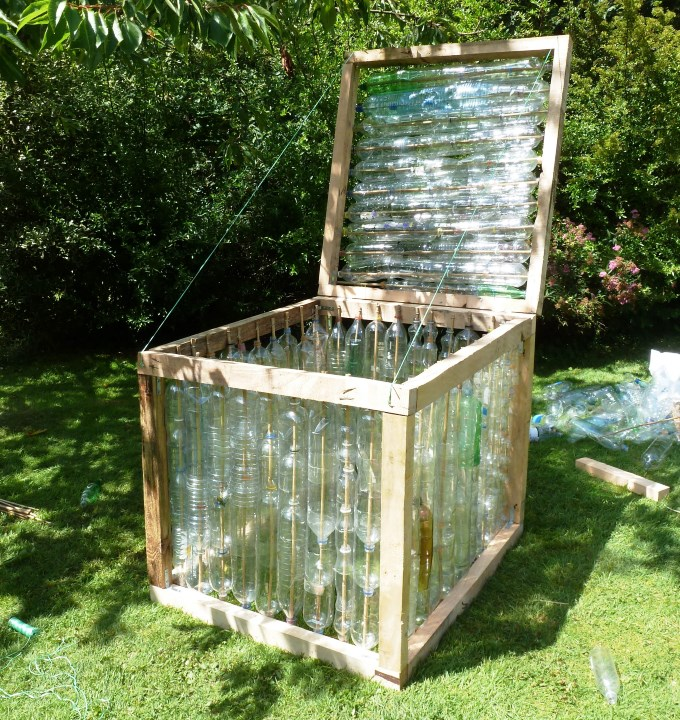 Plastic Bottle Greenhouse