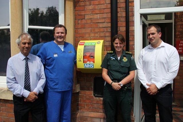 Wellum House Install Public Access Defibrillator in Andover