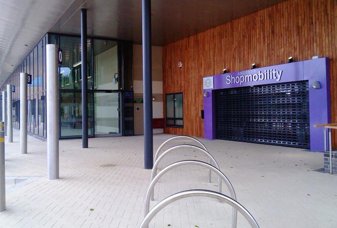 Shopmobility Entrance