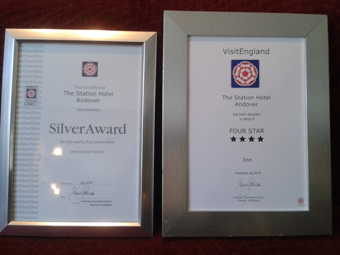 Station Inn Silver and 4 Star Award