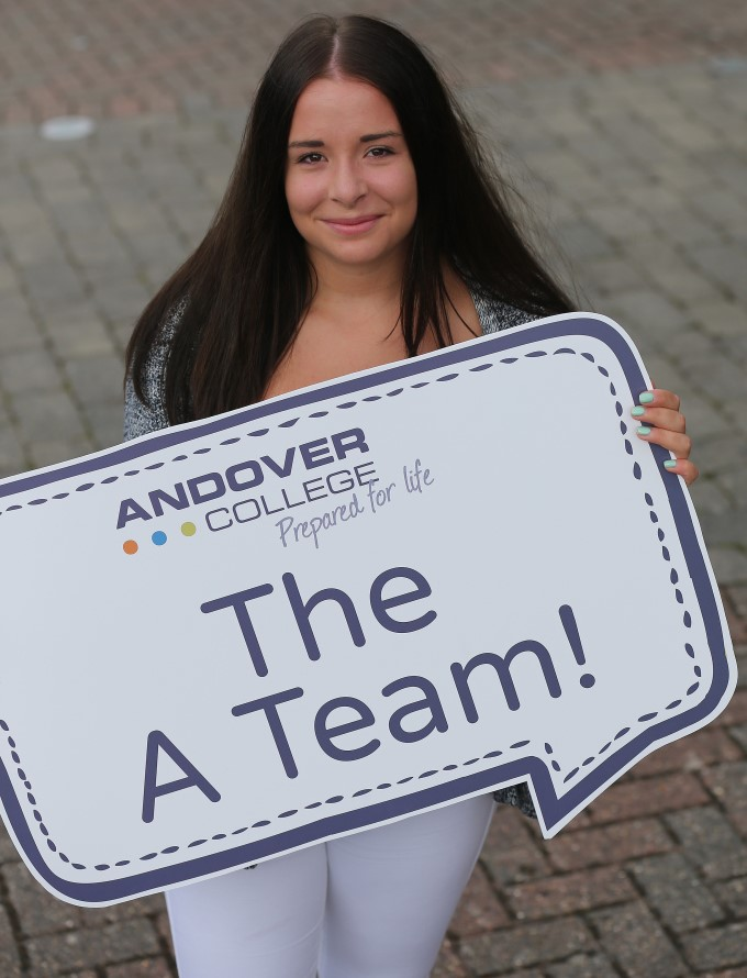 Andover College Student - Katie Chambers