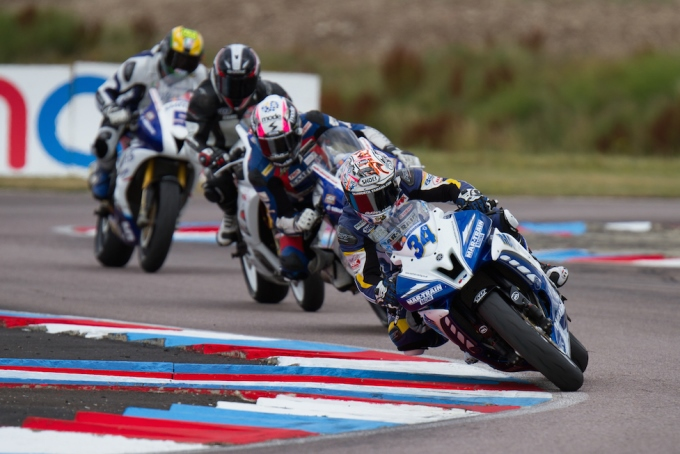 Supersport action at Thruxton - image (c)  Polarity Photo