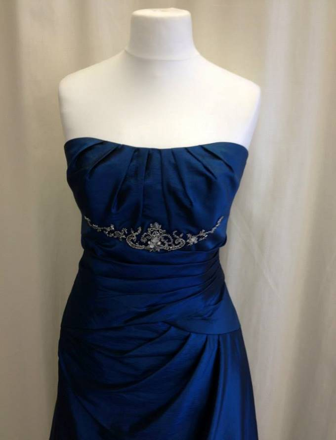 Burleys Dress Blue