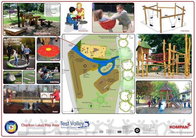 Charlton Lakes Play Area Plan