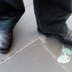Chewing Gum on Floor