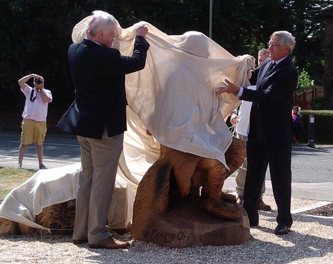 Enham Statue Unveiled