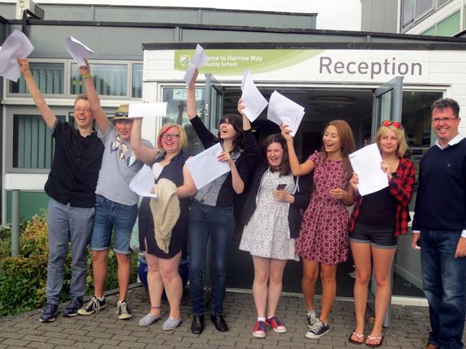 Harrow Way GCSE Results 2014 1