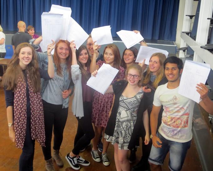 Harrow Way GCSE Results 2014 - Top 10