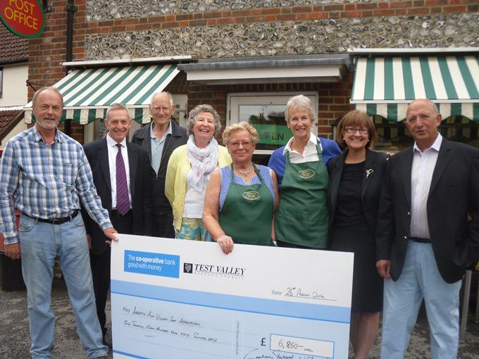 Abbotts Ann Village Shop Receives Grant