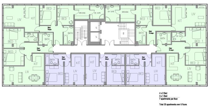 Chantry House - Proposed Floor Layout