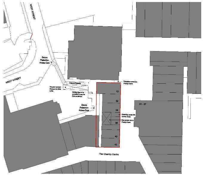 Chantry House - Proposed Ground Floor Access