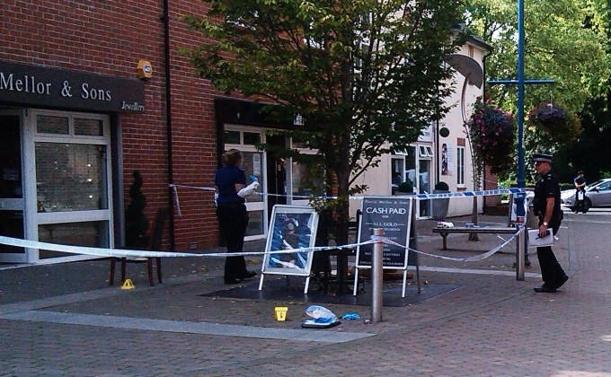 David Mellor Jewellers Robbery