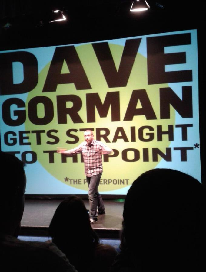 Dave Gorman Live at The Lights - Photo Courtesy of Lauren McManus