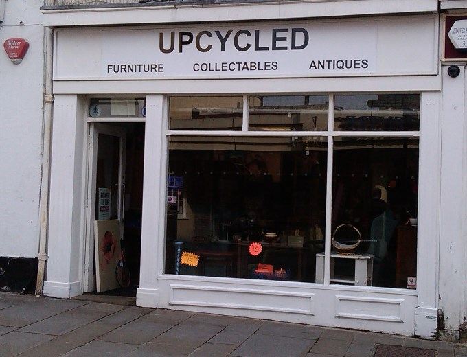 Upcycled in Andover - Outside