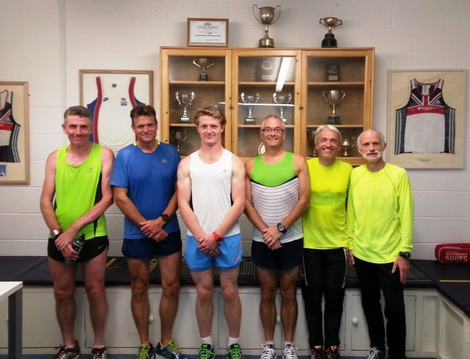 Andover Athletic Club's Solent Half Marathon Runners