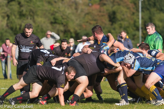 Andovers dominant scrum v Teddington