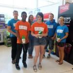NCS Students at the Andover Asda Bag Pack