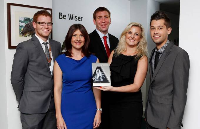 Be Wiser -  National Apprenticeship Awards 2014