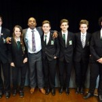 Former Pro American Footballer 'Touches Down' at Harrow Way