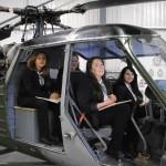 Harrow Way Art students get Mechanimal at the Army Air Museum
