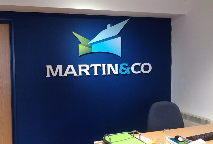 Martin and Co - Wall Logo