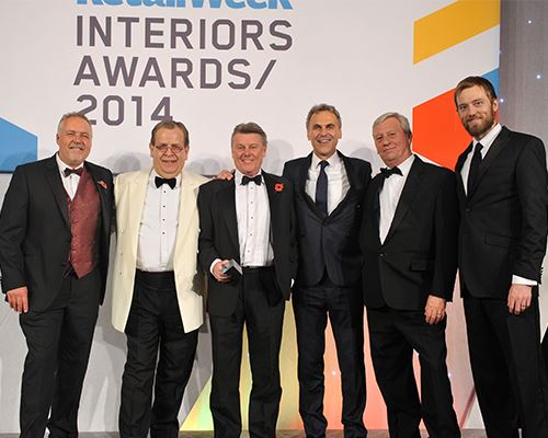 Powells Shopfitters - image courtesy of Retail Week Interiross Awards