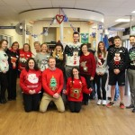 Leisure Centre Helps Make World Better with a Christmas Sweater