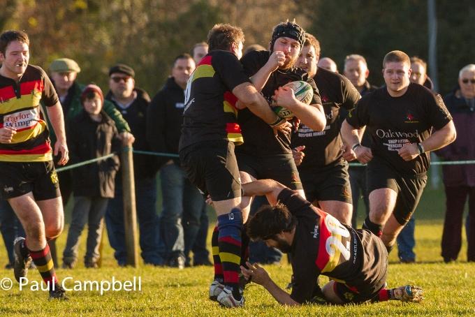 Andover vs Eastleigh Matt Moore powers on