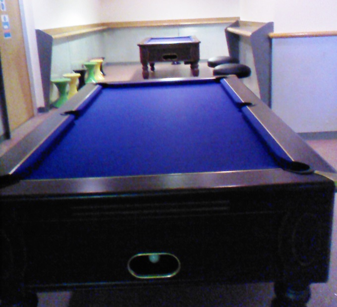 Breakers Andover - Blue Pool Tables
