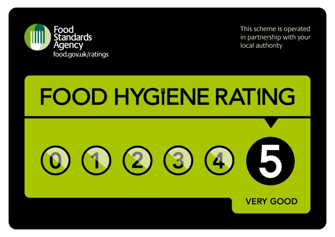 Food Hygiene Rating - 5 Star