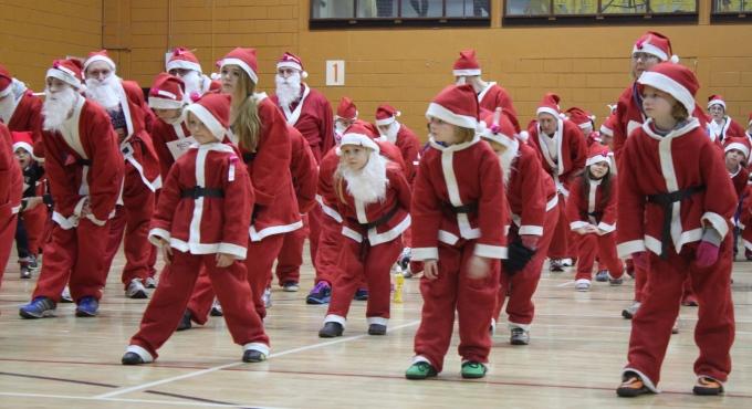Santa Fun Run - Get ready to be santa smaller